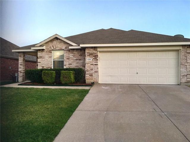 636 Horn Street, Crowley, TX 76036 (MLS #13877643) :: Magnolia Realty