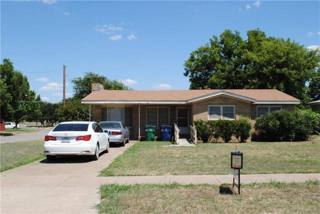 1347 Hillcrest Drive, Graham, TX 76450 (MLS #13877693) :: The Chad Smith Team