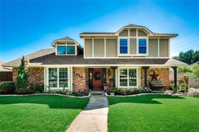 1810 Westshore Drive, Garland, TX 75043 (MLS #13878149) :: Team Hodnett