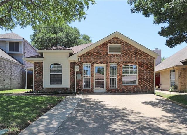 914 Plantation Drive, Lewisville, TX 75067 (MLS #13878614) :: Team Hodnett