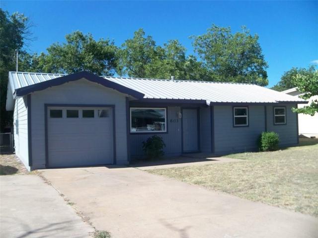 603 10th Street E, Coleman, TX 76834 (MLS #13878767) :: Kimberly Davis & Associates