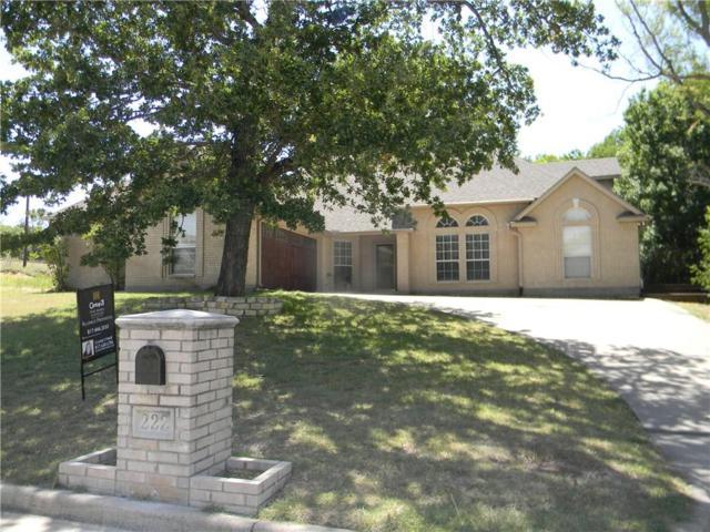 222 Golfers Way, Azle, TX 76020 (MLS #13881521) :: Magnolia Realty