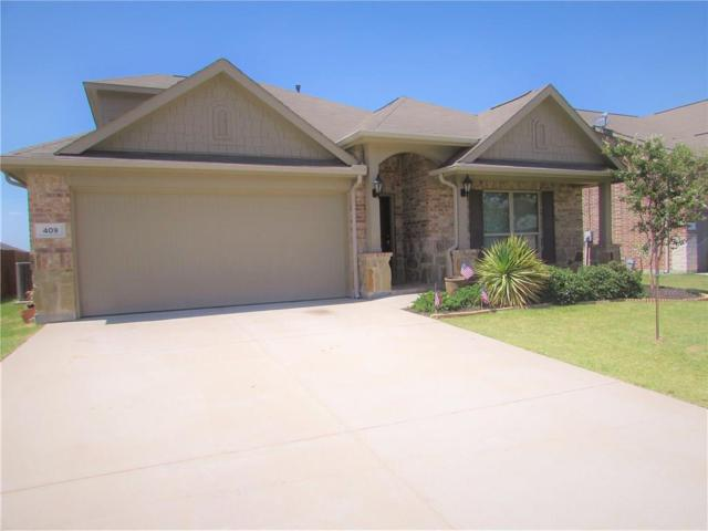 409 Peach Lane, Burleson, TX 76028 (MLS #13881989) :: The Mitchell Group