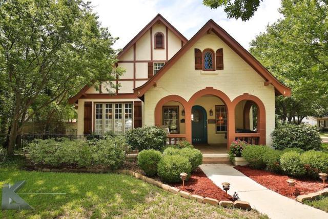 2141 S 8th Street, Abilene, TX 79605 (MLS #13882821) :: The Tonya Harbin Team