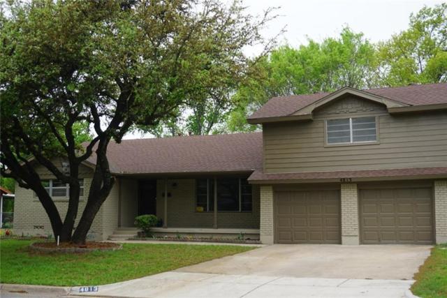 4813 Eldorado Drive, North Richland Hills, TX 76180 (MLS #13883260) :: The Real Estate Station