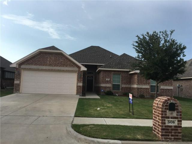 508 Greenvale Court, Saginaw, TX 76179 (MLS #13883427) :: Team Hodnett