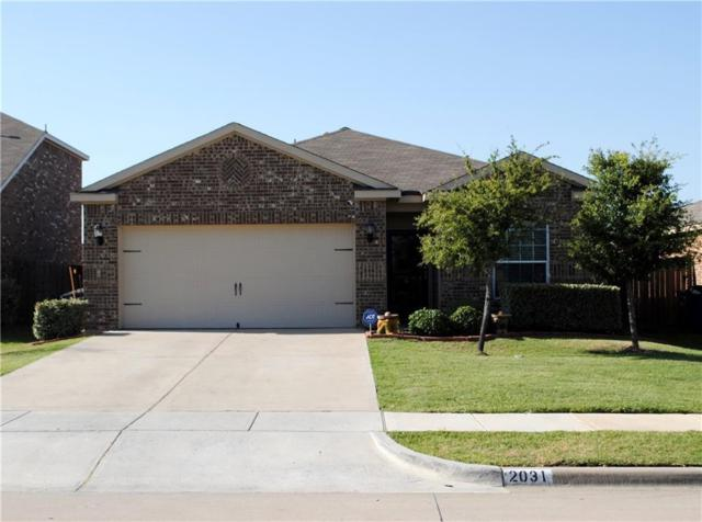 2031 Cone Flower Drive, Forney, TX 75126 (MLS #13884194) :: RE/MAX Town & Country