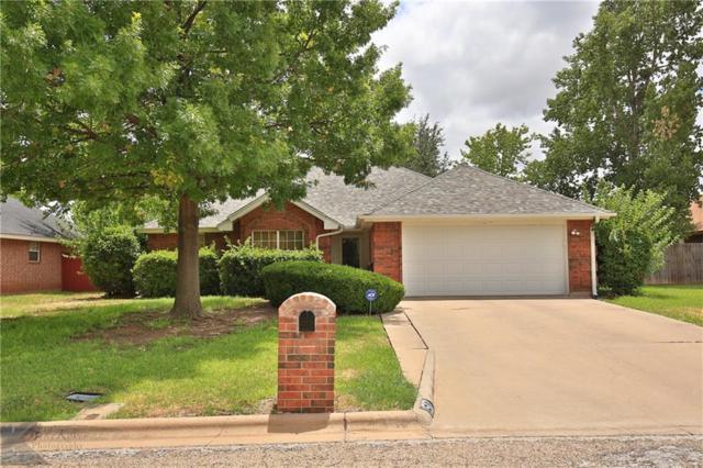 1517 Squires Road, Abilene, TX 79602 (MLS #13884387) :: Team Hodnett