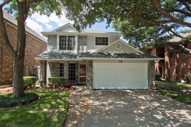 820 Woodlake Drive, Coppell, TX 75019 (MLS #13884510) :: Team Hodnett