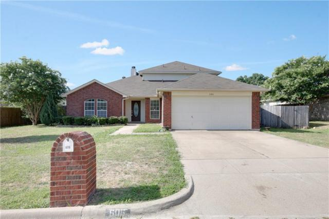 606 Rolling Hills Drive, Aledo, TX 76008 (MLS #13885804) :: Potts Realty Group