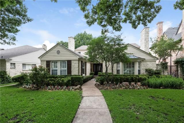 3316 Greenbrier Drive, University Park, TX 75225 (MLS #13886145) :: North Texas Team | RE/MAX Advantage