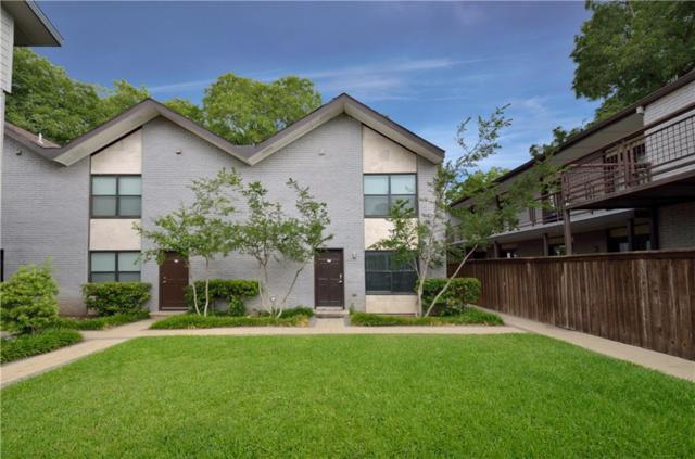 2722 Knight Street 119D, Dallas, TX 75219 (MLS #13886250) :: The Heyl Group at Keller Williams