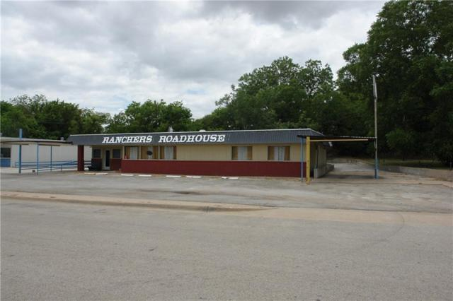 707 N Commercial, Goldthwaite, TX 76844 (MLS #13886549) :: Team Hodnett