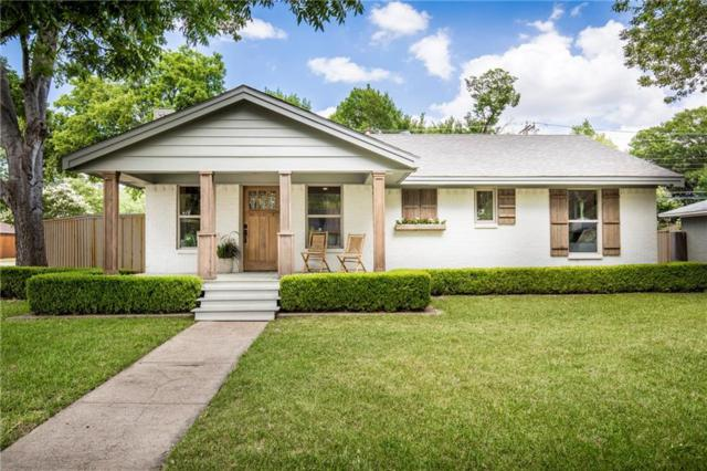 704 Parkhurst Drive, Dallas, TX 75218 (MLS #13886784) :: RE/MAX Town & Country