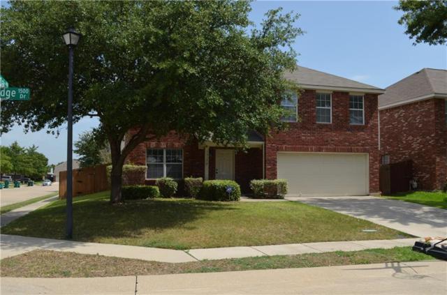 1517 Pine Ridge Drive, Lewisville, TX 75067 (MLS #13887794) :: Real Estate By Design