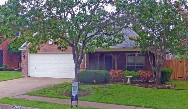 2445 Aberdeen Drive, Bedford, TX 76021 (MLS #13889217) :: RE/MAX Town & Country
