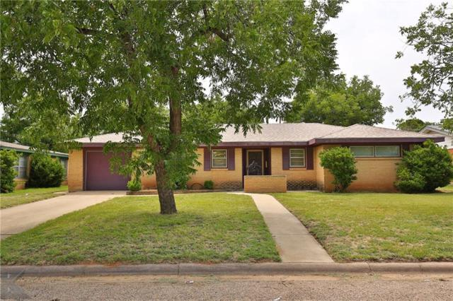 2533 Madison Avenue, Abilene, TX 79601 (MLS #13889401) :: The Tonya Harbin Team