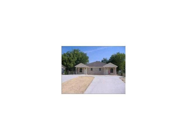 8112 W Elizabeth Lane, Fort Worth, TX 76116 (MLS #13889844) :: Team Hodnett