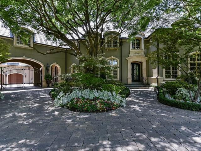 4346 Park Lane, Dallas, TX 75220 (MLS #13890159) :: Frankie Arthur Real Estate