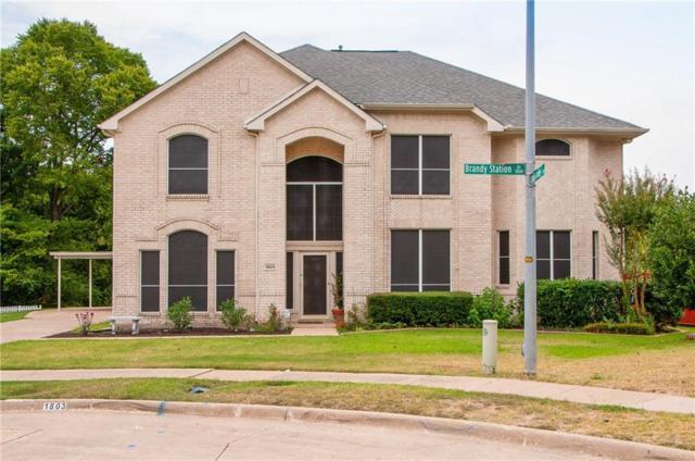 1803 Brandy Station Drive, Mesquite, TX 75181 (MLS #13890623) :: Team Hodnett