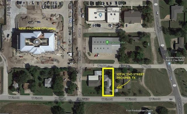 107 W 2nd Street, Prosper, TX 75078 (MLS #13890674) :: The Heyl Group at Keller Williams