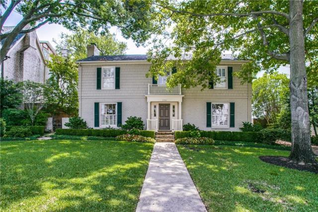 3701 Wentwood, University Park, TX 75225 (MLS #13890736) :: Robbins Real Estate Group