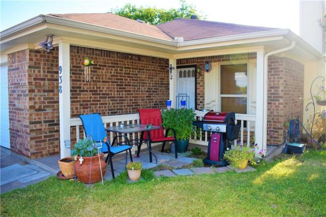 938 Irene Street, Burleson, TX 76028 (MLS #13891057) :: Team Hodnett