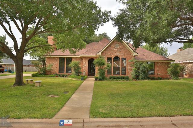 7 Lamar Circle, Abilene, TX 79601 (MLS #13891058) :: The Tonya Harbin Team