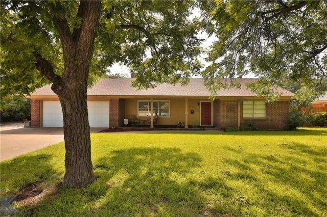 2233 Crescent Drive, Abilene, TX 79605 (MLS #13891249) :: The Real Estate Station