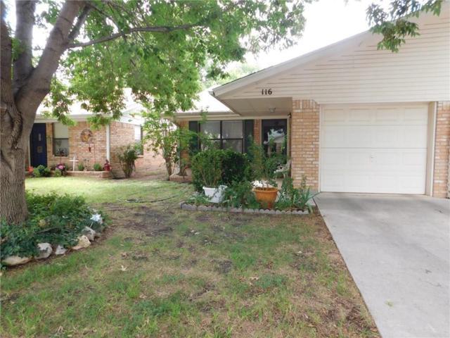 116 Rose Lane, Brownwood, TX 76801 (MLS #13891603) :: Team Tiller