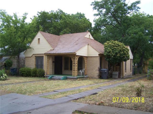 1822 Maryland Avenue, Dallas, TX 75216 (MLS #13891871) :: Team Hodnett