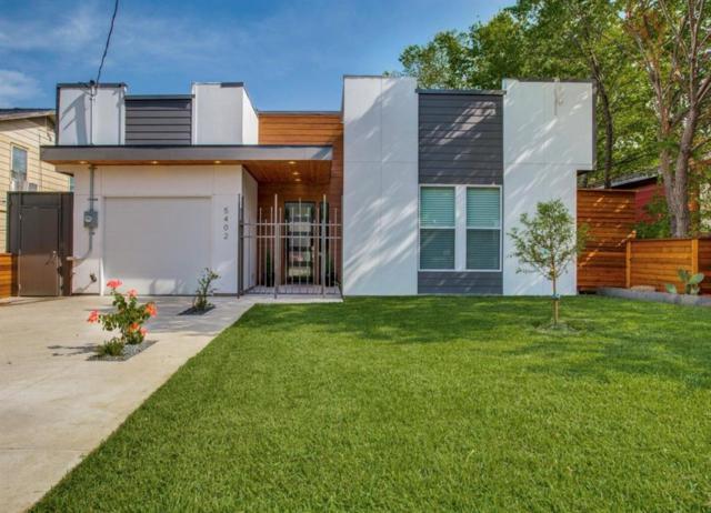 5402 Chippewa Drive, Dallas, TX 75212 (MLS #13892371) :: The Mitchell Group