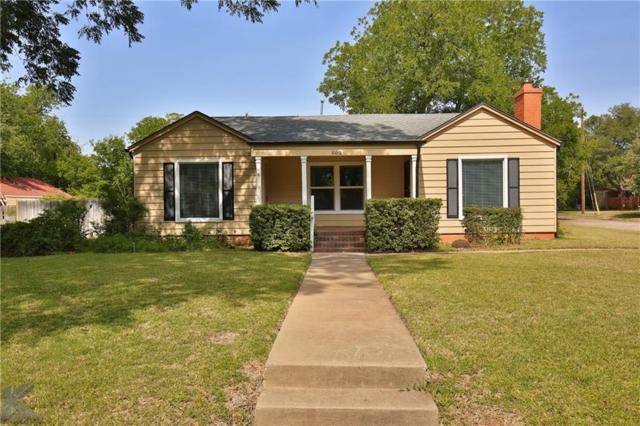 602 Riverside Boulevard, Abilene, TX 79605 (MLS #13892443) :: Team Hodnett