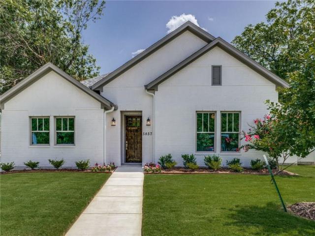 5857 Straley Avenue, Westworth Village, TX 76114 (MLS #13892552) :: Team Hodnett