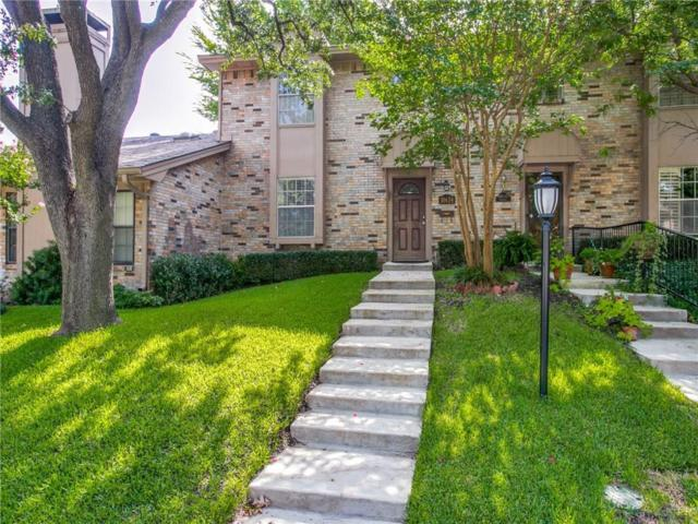 10634 Northboro Street #13, Dallas, TX 75230 (MLS #13892777) :: Team Hodnett