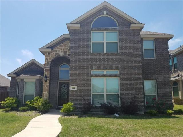 112 Post Oak Drive, Red Oak, TX 75154 (MLS #13893032) :: Pinnacle Realty Team