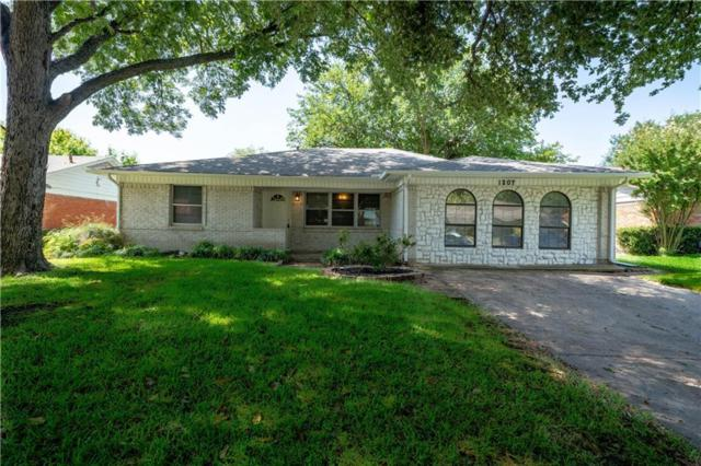 1207 Dearborn Drive, Richardson, TX 75080 (MLS #13893685) :: Team Hodnett