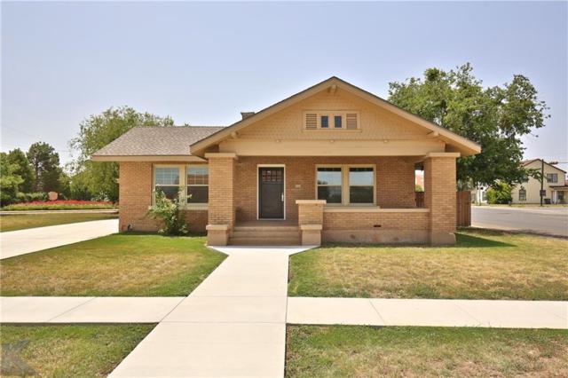 1641 N 4th Street, Abilene, TX 79601 (MLS #13893711) :: Team Hodnett
