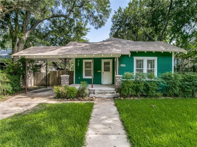 6018 Goliad Avenue, Dallas, TX 75206 (MLS #13894209) :: RE/MAX Pinnacle Group REALTORS