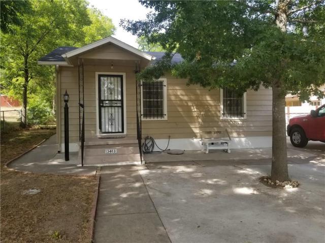 3403 30th Street, Fort Worth, TX 76106 (MLS #13894335) :: Team Hodnett