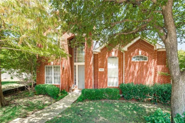 402 Stonebridge Circle, Allen, TX 75013 (MLS #13894539) :: Team Hodnett