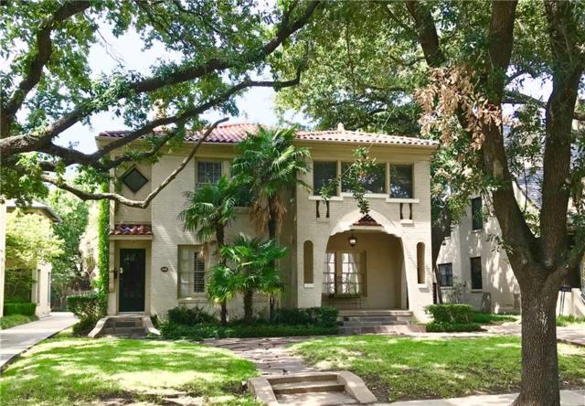 4404 Normandy Avenue, University Park, TX 75205 (MLS #13894915) :: Robbins Real Estate Group