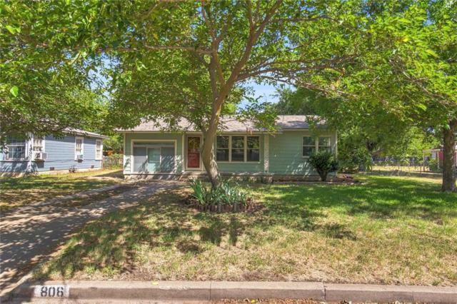 806 Turner Street, Cleburne, TX 76033 (MLS #13894947) :: Team Hodnett