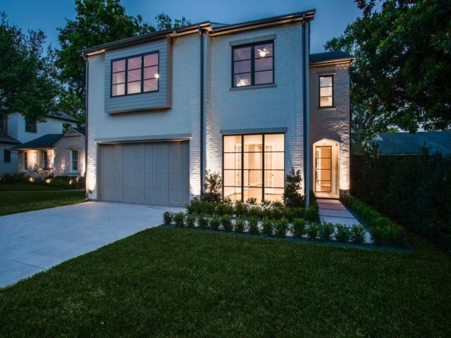 4722 Purdue Avenue, Dallas, TX 75209 (MLS #13895581) :: Team Hodnett