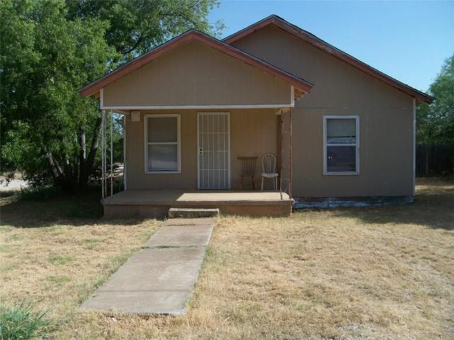 801 E 5th Street, Coleman, TX 76834 (MLS #13896090) :: Team Hodnett