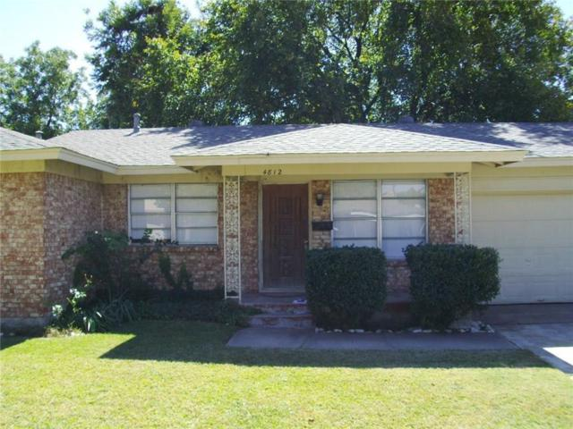 4812 Ira Street, Haltom City, TX 76117 (MLS #13896133) :: The Real Estate Station