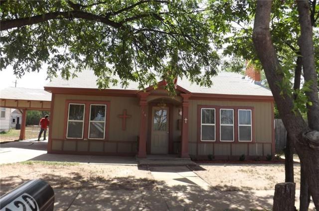 120 NW Avenue D, Hamlin, TX 79520 (MLS #13896167) :: Team Hodnett