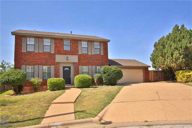 7734 John Carroll Drive, Abilene, TX 79606 (MLS #13896466) :: Team Hodnett