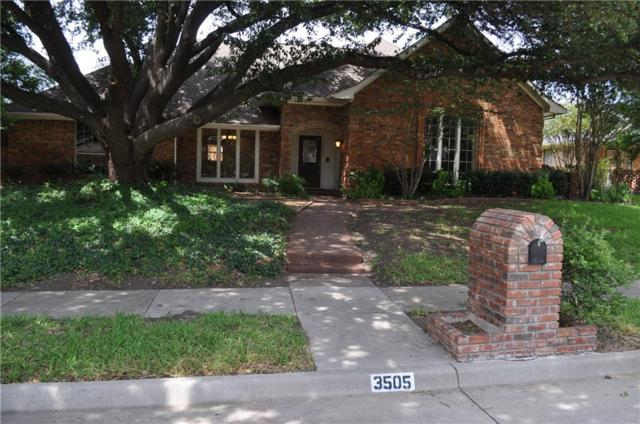 3505 Seltzer Drive, Plano, TX 75023 (MLS #13896580) :: RE/MAX Town & Country
