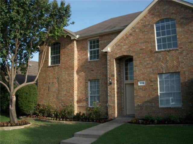 1520 Fallcreek Court, Allen, TX 75002 (MLS #13896719) :: Robbins Real Estate Group